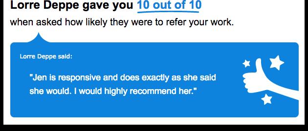 Jen is a Responsive Web Designer
